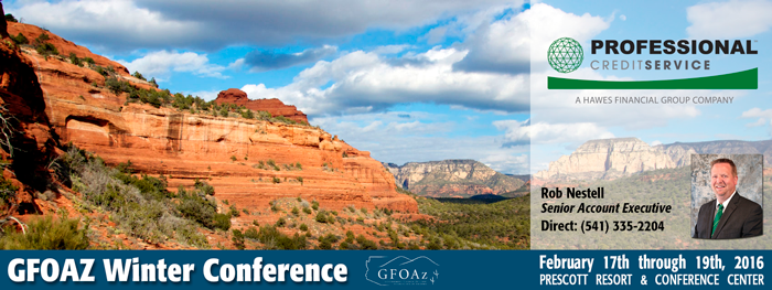 2016 GFOAZ Winter Conference - Prescott Arizona